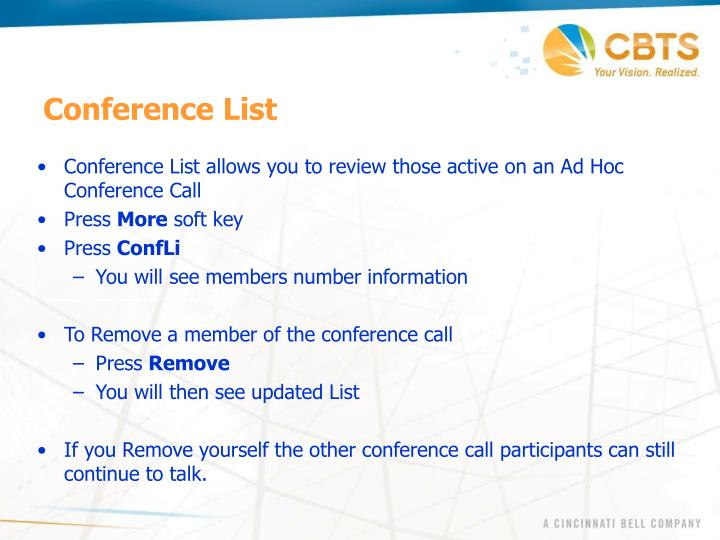 Conference List