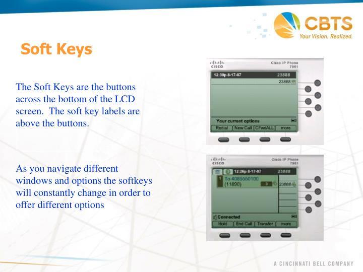 Soft Keys