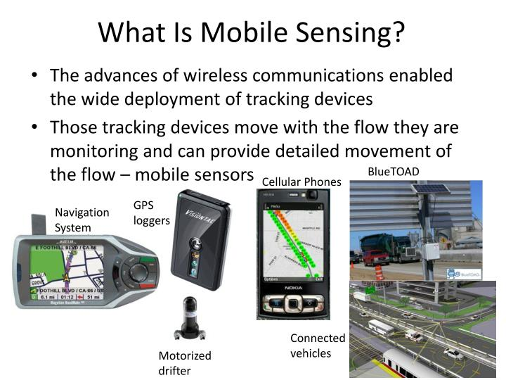 What is mobile sensing