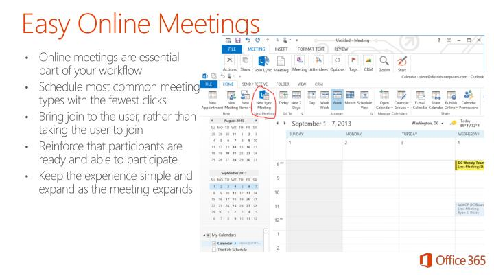 Easy Online Meetings