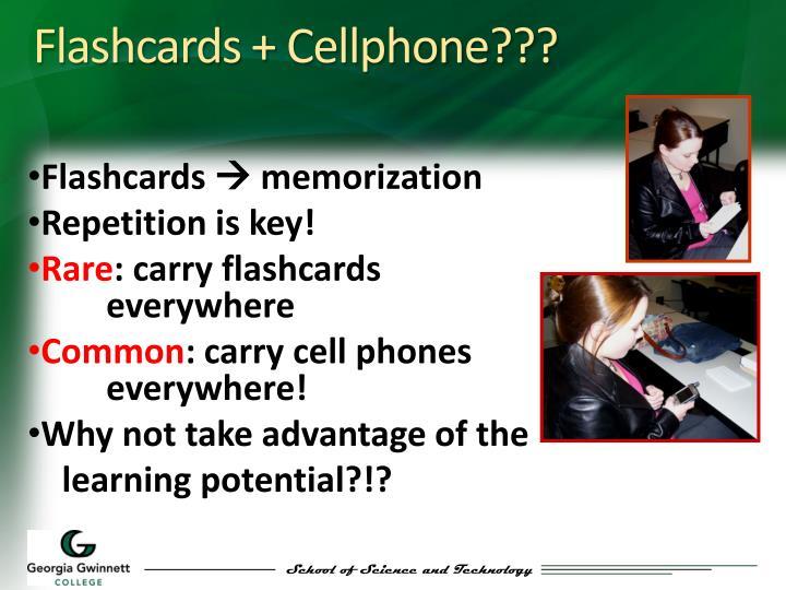Flashcards +