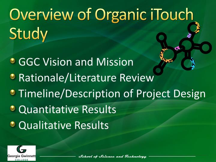 Overview of Organic