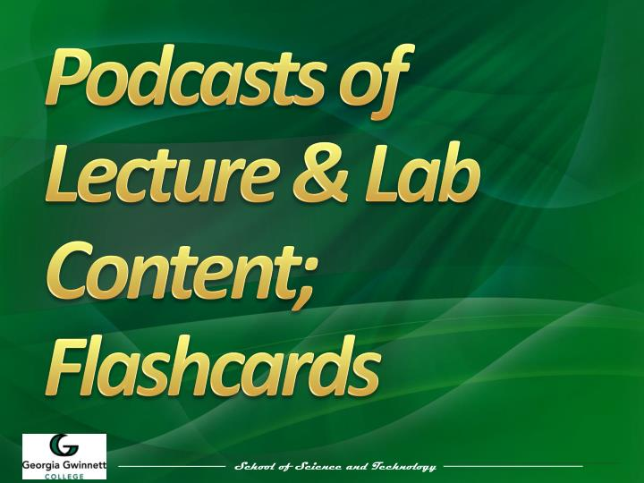Podcasts of Lecture