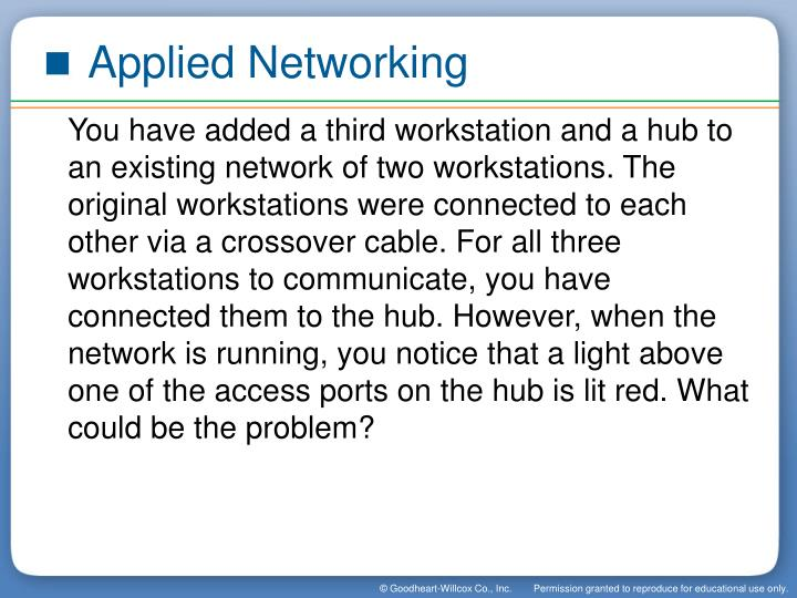 Applied Networking