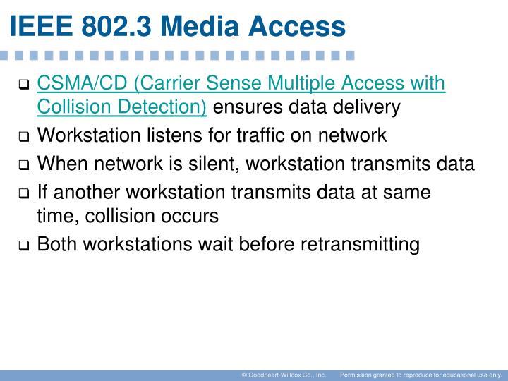 IEEE 802.3 Media Access
