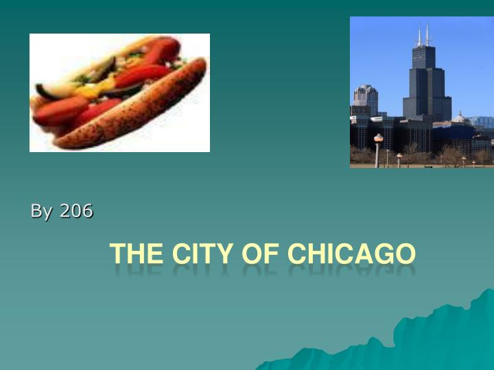 the city of chicago n.