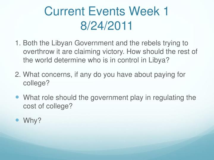 current events week 1 8 24 2011 n.
