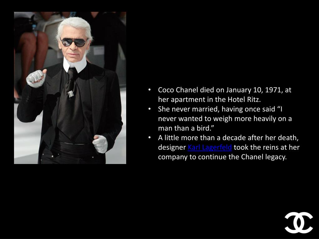 Ppt Coco Chanel Powerpoint Presentation Free Download Id 1615137