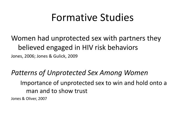 Formative Studies