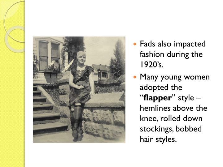 fashion fads and crazes in sociology