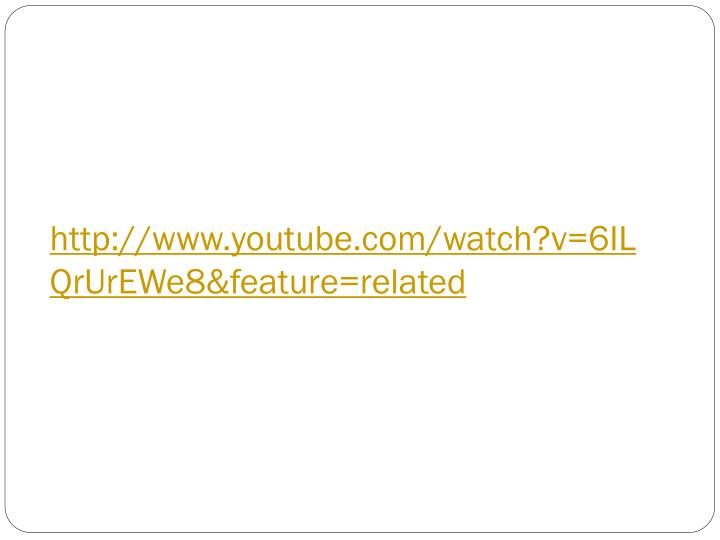 Http www youtube com watch v 6ilqrurewe8 feature related