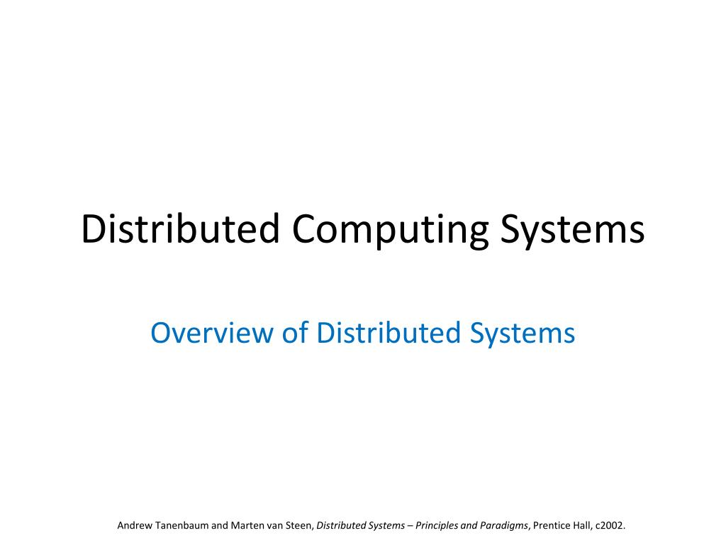 Distributed operating systems tanenbaum ebook free download.