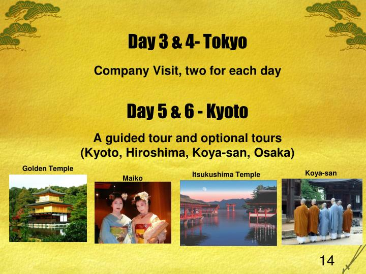 Day 3 & 4- Tokyo