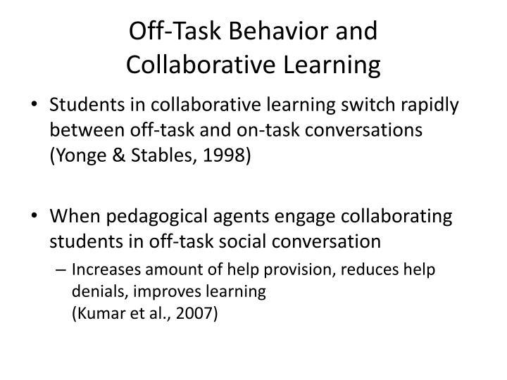 Off-Task Behavior and