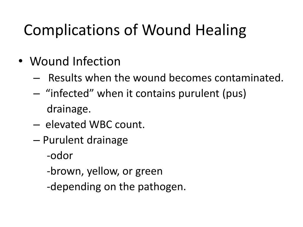 PPT - Surgical Wound Care PowerPoint Presentation - ID:1615782