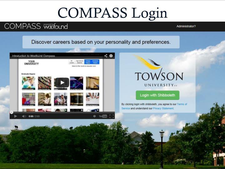COMPASS Login