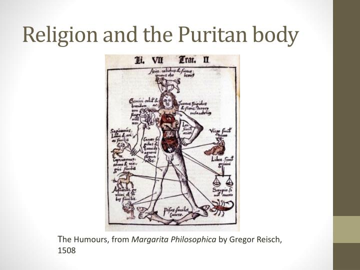 Religion and the Puritan body