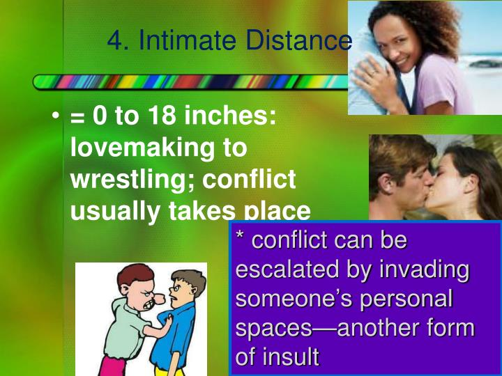 4. Intimate Distance