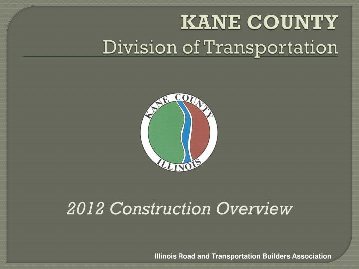kane county division of transportation n.