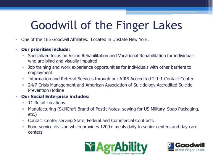 Goodwill of the Finger Lakes