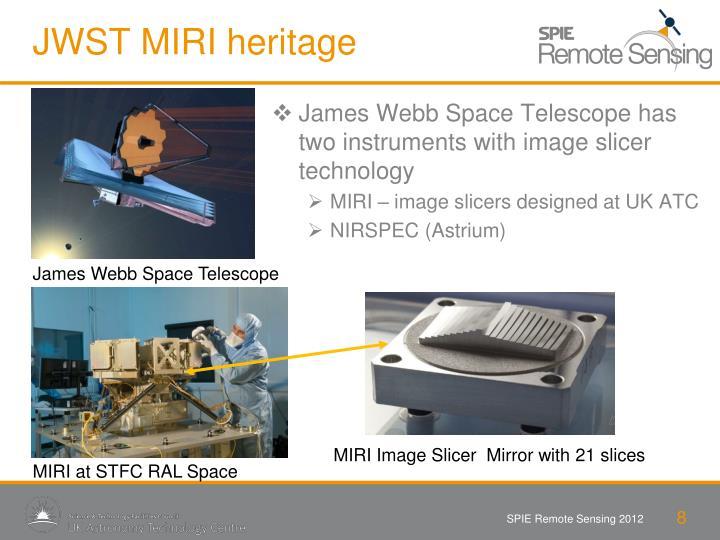 JWST MIRI heritage
