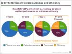 ipps movement toward outcomes and efficiency