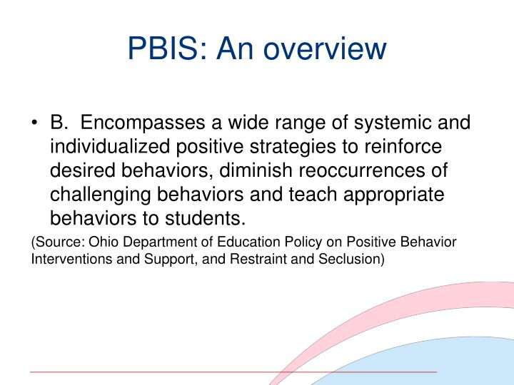 PBIS: An overview