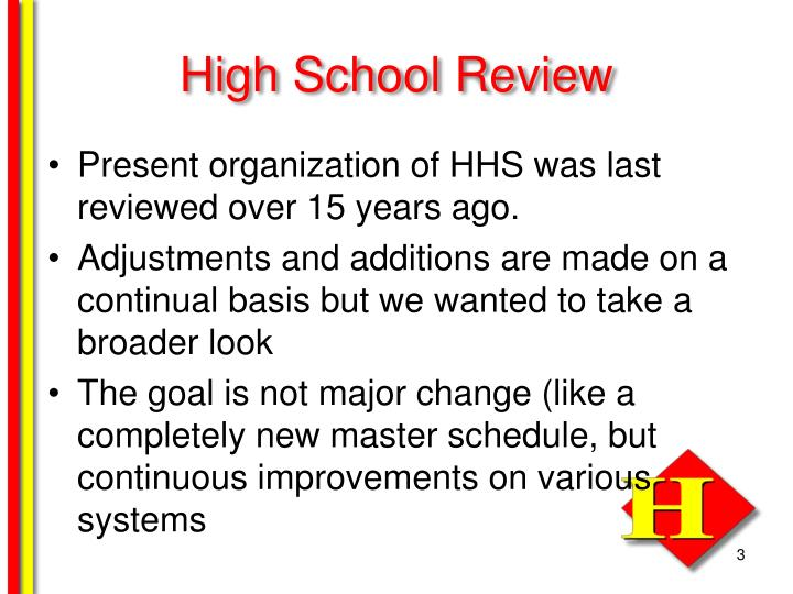 High school review1