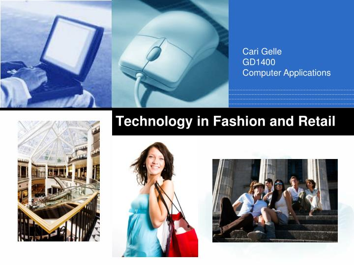 technology in fashion and retail n.