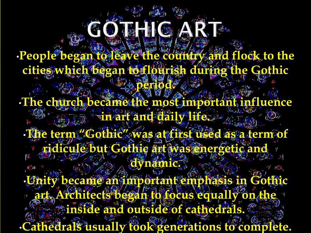 Gothic Powerpoint Templates Www Topsimages Com