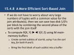 15 4 8 a more efficient sort based join