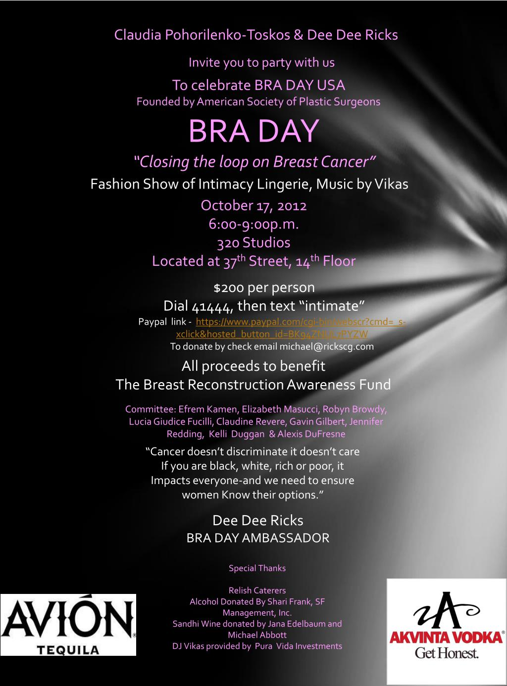 Ppt Bra Day Closing The Loop On Breast Cancer Powerpoint Presentation Id 1616861