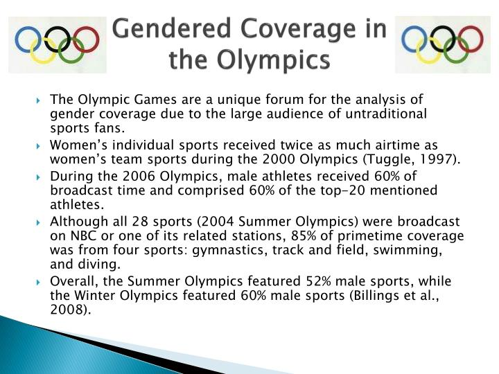 Gendered Coverage in