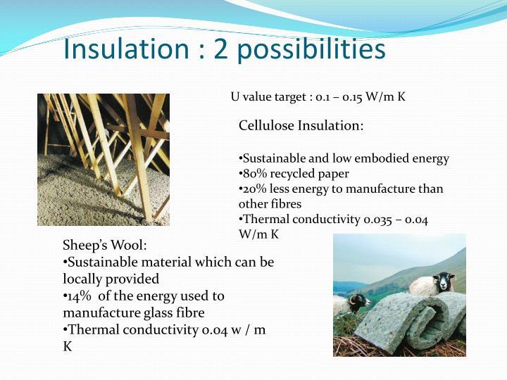 Insulation : 2