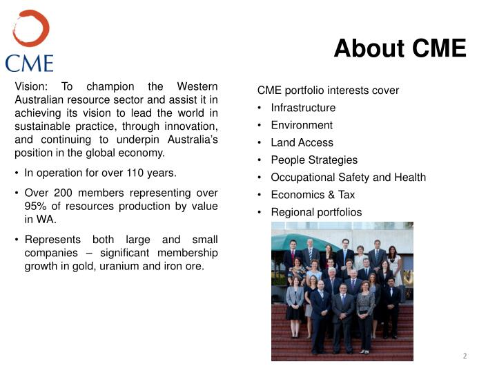 About cme