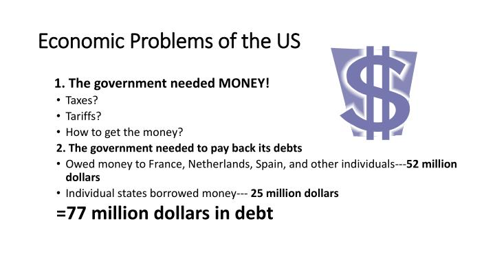 Economic Problems of the US