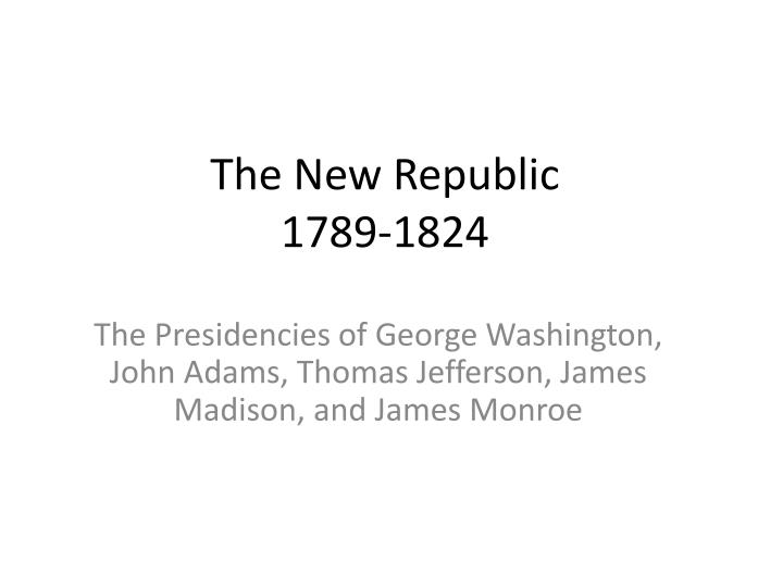 a comparison of the policies of thomas jefferson and james madison two american presidents Thomas jefferson, a spokesman for democracy, was an american founding father, the principal author of the declaration of independence (1776), and the third president of the united states (1801.