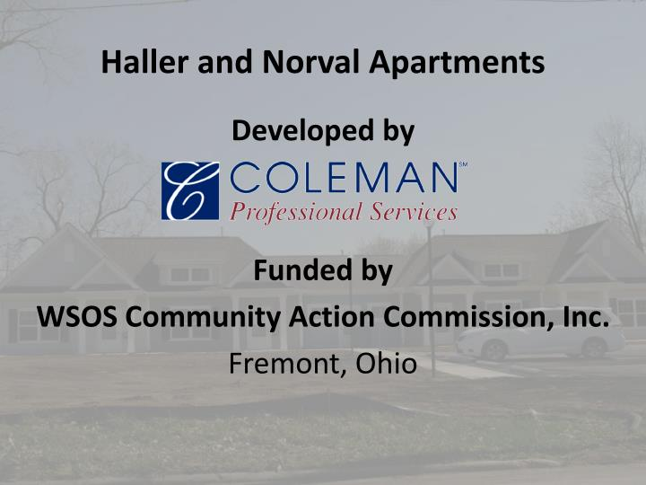 haller and norval apartments n.