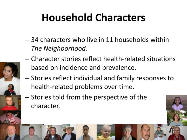 Household Characters