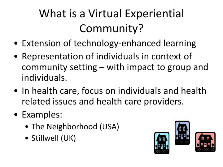 What is a Virtual Experiential Community?