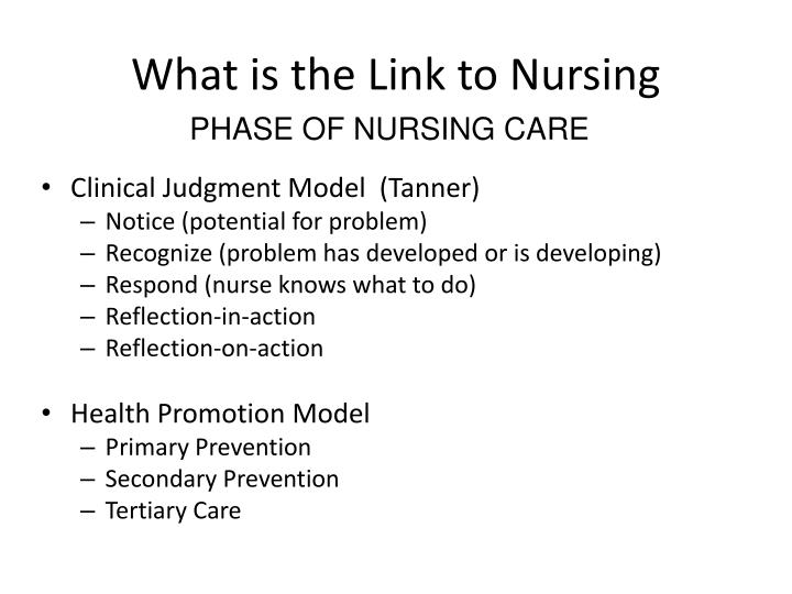 What is the Link to Nursing