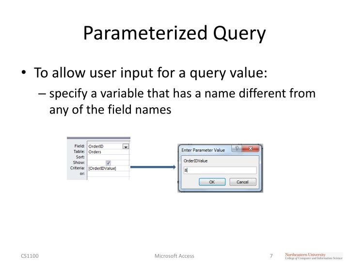 Parameterized Query