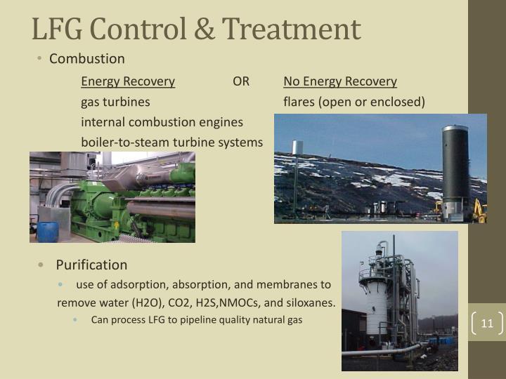 LFG Control & Treatment