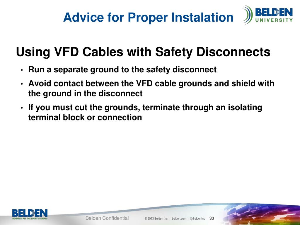 PPT - Best Practices for VFD Cabling PowerPoint Presentation
