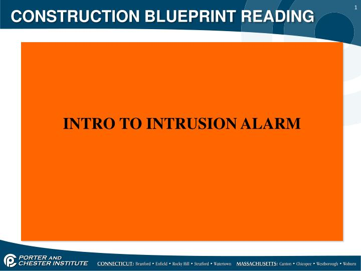 Ppt construction blueprint reading powerpoint presentation id construction blueprint reading malvernweather Image collections