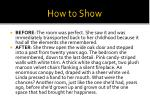 how to show2