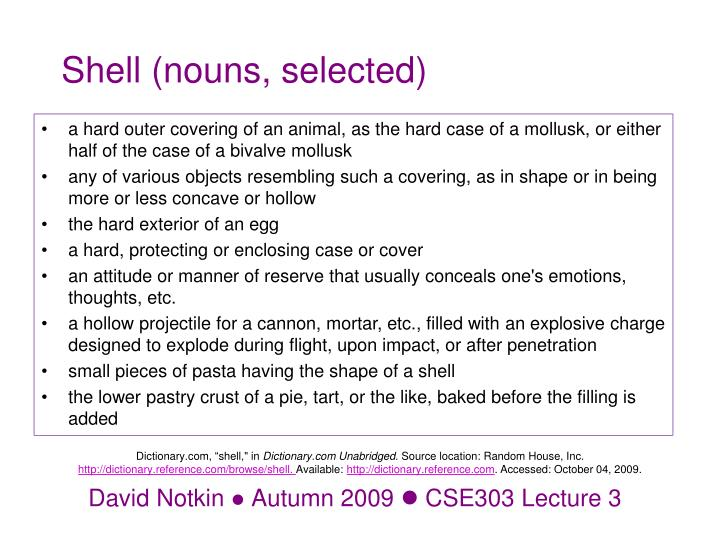 shell nouns selected n.