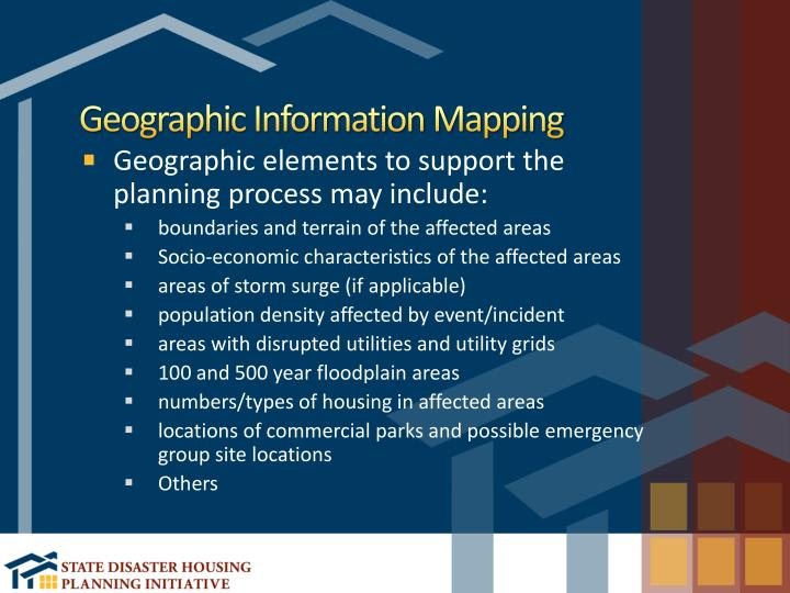 Geographic Information Mapping