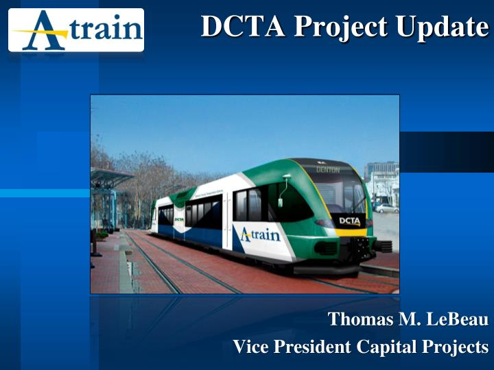 dcta project update n.