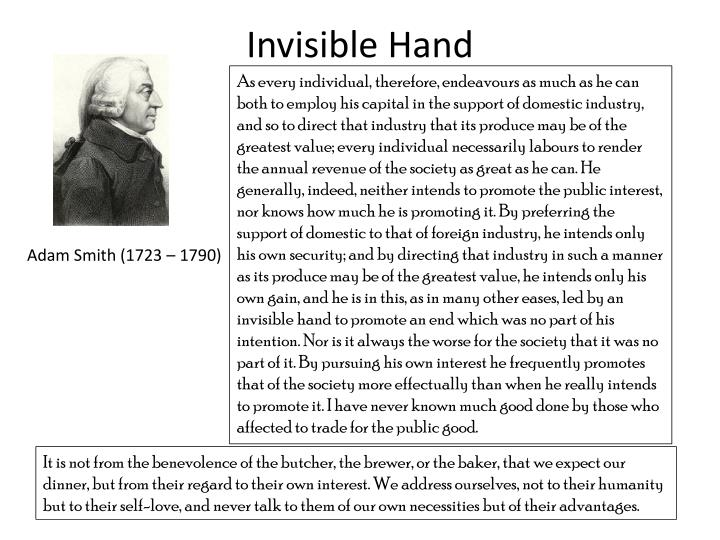Invisible hand